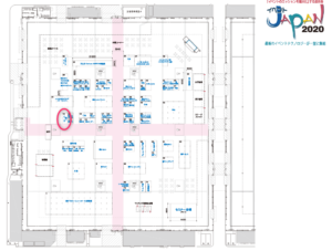 13thイベントJAPANブース地図